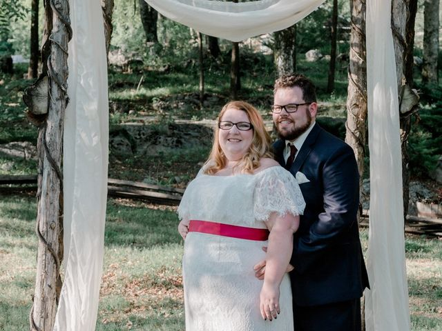 The wedding of Nick and Sabrina