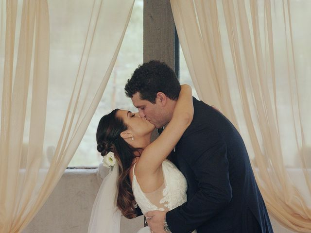 The wedding of Elisa and Colin
