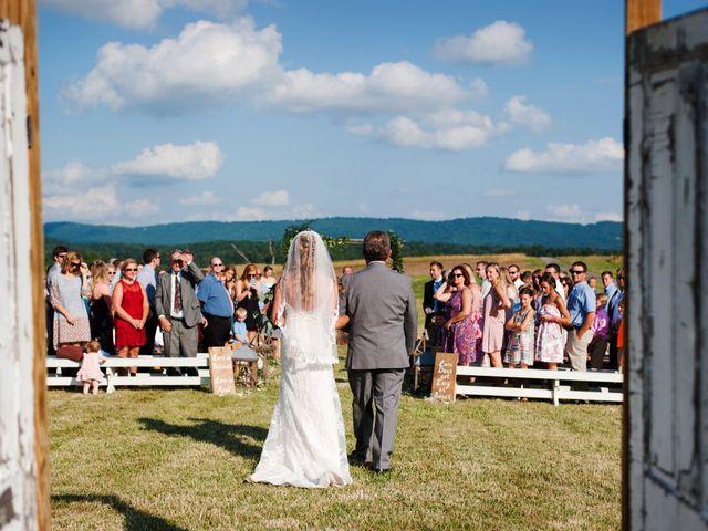 Morgan and Nathan's Wedding in Christiansburg, Virginia 12