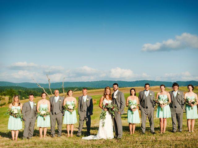 Morgan and Nathan's Wedding in Christiansburg, Virginia 15