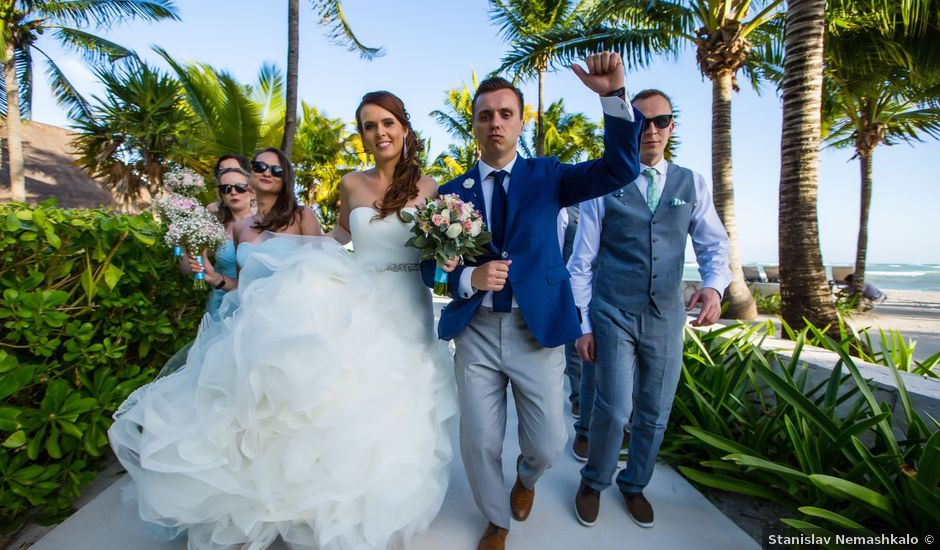 Sergey and Veronika's Wedding in Playa del Carmen, Mexico