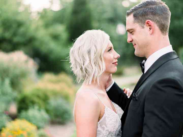The wedding of Brittany and Caleb