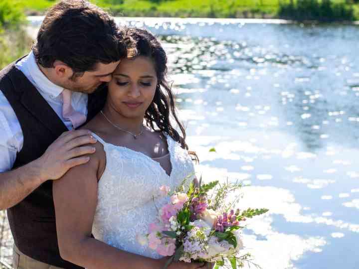 The wedding of Reena and Joe