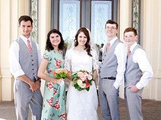 The wedding of Lauren and Elijah 1