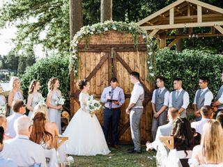 The wedding of Faith and Tyce