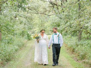 The wedding of Myles and Katie