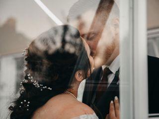 The wedding of David and Elise 1