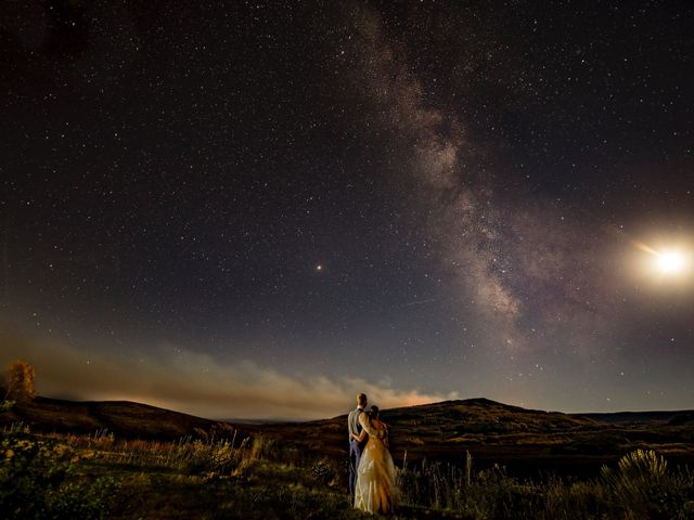 Dustin and Jyl's Wedding in Steamboat Springs, Colorado 1