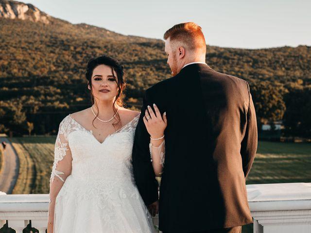 The wedding of David and Elise