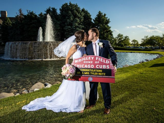 Tyler and Taylor's Wedding in Bolingbrook, Illinois 32