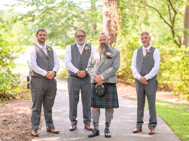 Tom and Hilleri's Wedding in Murrells Inlet, South Carolina 13