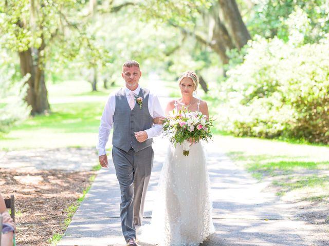 Tom and Hilleri's Wedding in Murrells Inlet, South Carolina 22