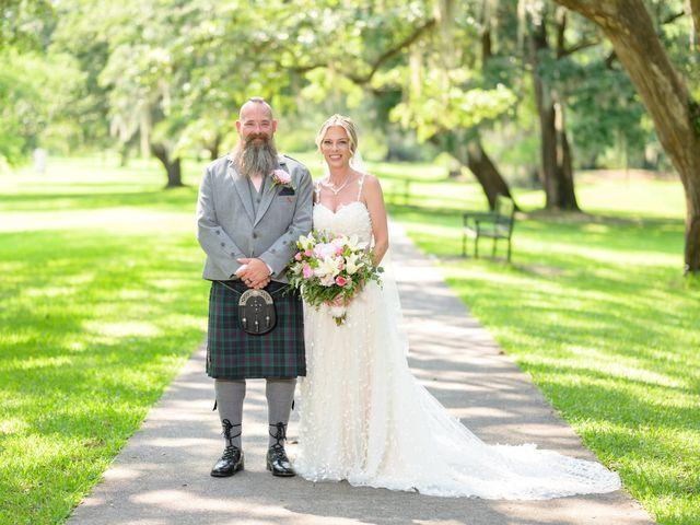 Tom and Hilleri's Wedding in Murrells Inlet, South Carolina 1