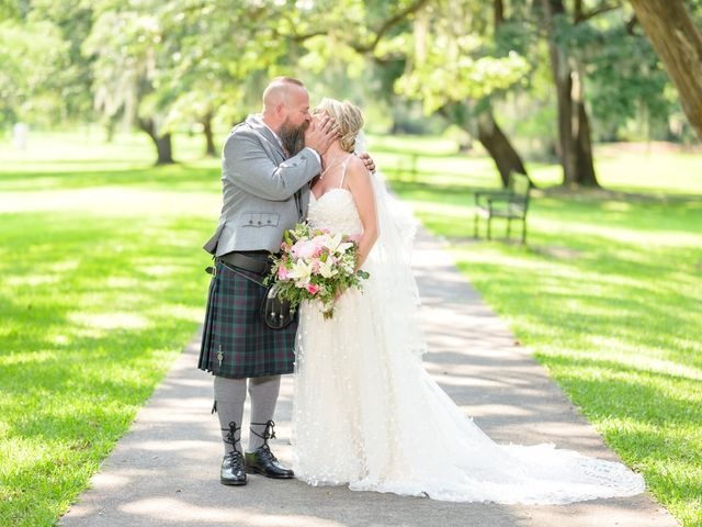 Tom and Hilleri's Wedding in Murrells Inlet, South Carolina 30