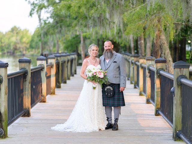 Tom and Hilleri's Wedding in Murrells Inlet, South Carolina 46