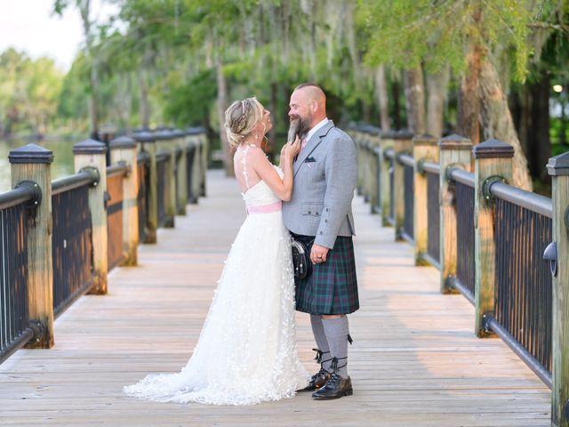 Tom and Hilleri's Wedding in Murrells Inlet, South Carolina 2