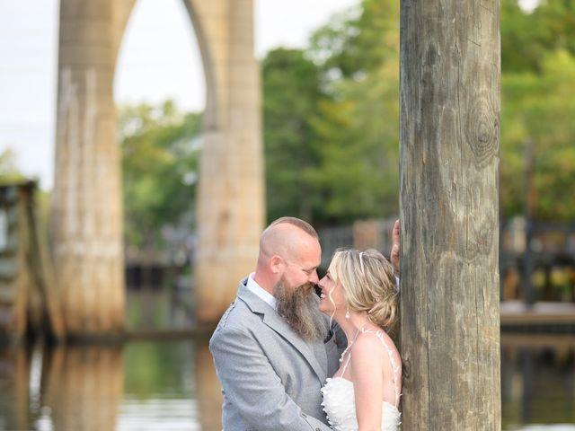 Tom and Hilleri's Wedding in Murrells Inlet, South Carolina 52