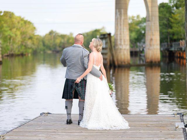 Tom and Hilleri's Wedding in Murrells Inlet, South Carolina 53