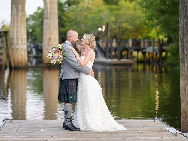 Tom and Hilleri's Wedding in Murrells Inlet, South Carolina 54