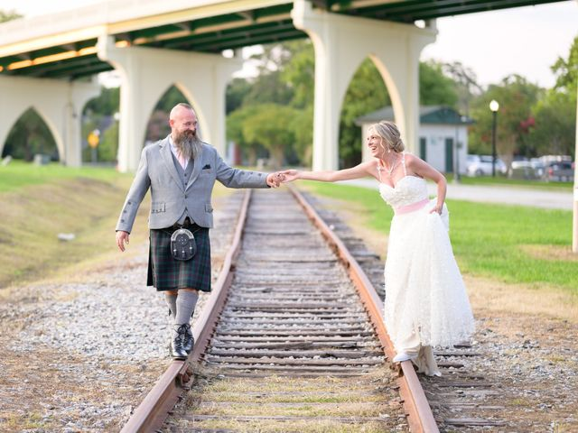 Tom and Hilleri's Wedding in Murrells Inlet, South Carolina 58