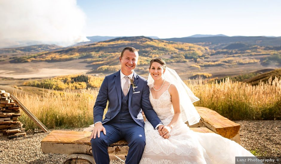 Dustin and Jyl's Wedding in Steamboat Springs, Colorado