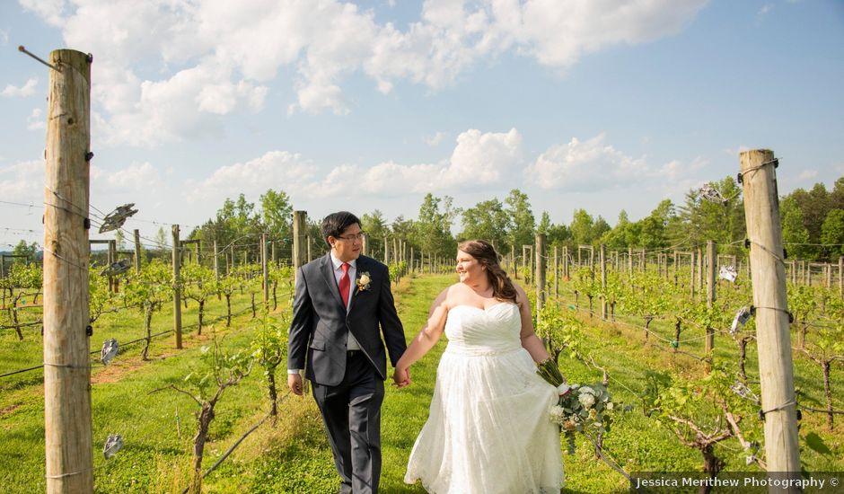 Sean and Lauren's Wedding in Shelby, North Carolina