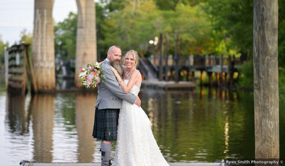 Tom and Hilleri's Wedding in Murrells Inlet, South Carolina
