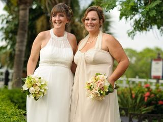 The wedding of Tonya and Kimberly 1