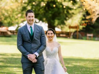The wedding of Denielle and Andrew 1