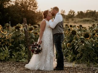 The wedding of Melissa and Austin