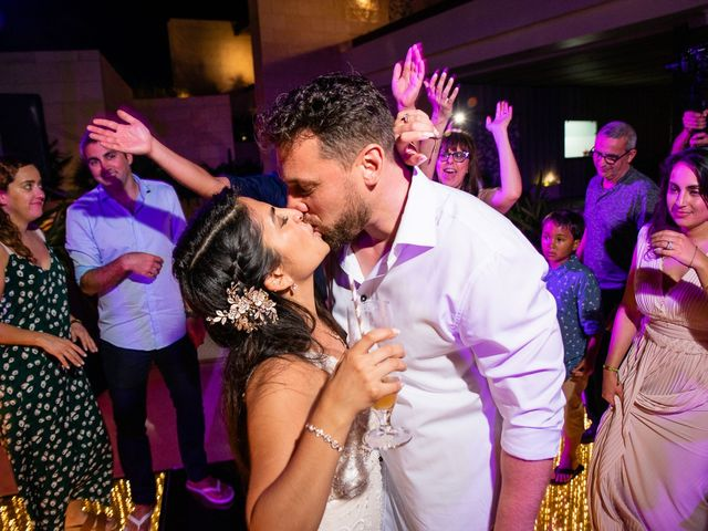 Jay and Mazal's Wedding in Cancun, Mexico 42
