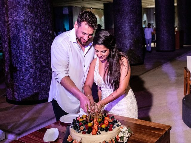 Jay and Mazal's Wedding in Cancun, Mexico 38
