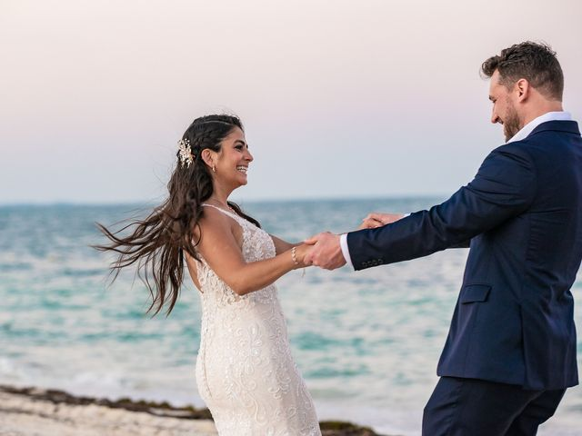 Jay and Mazal's Wedding in Cancun, Mexico 31
