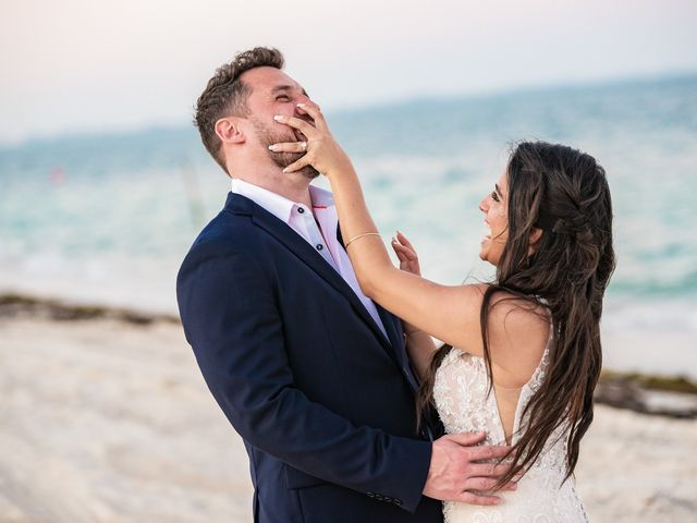 Jay and Mazal's Wedding in Cancun, Mexico 32