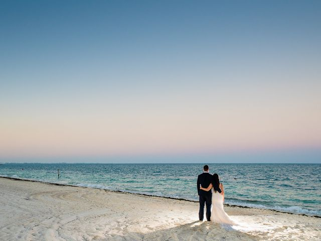 Jay and Mazal's Wedding in Cancun, Mexico 33