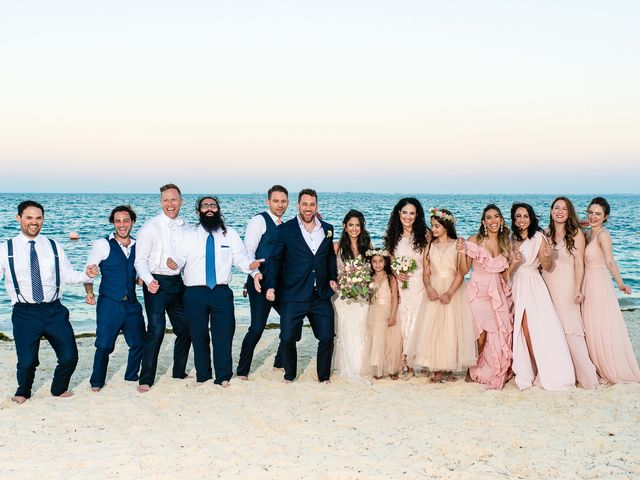 Jay and Mazal's Wedding in Cancun, Mexico 29