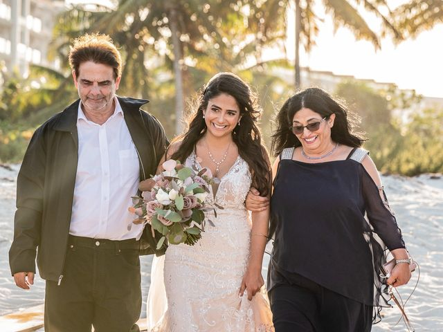 Jay and Mazal's Wedding in Cancun, Mexico 24
