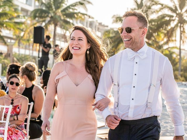 Jay and Mazal's Wedding in Cancun, Mexico 23