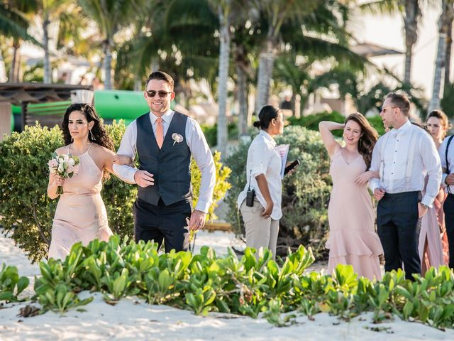 Jay and Mazal's Wedding in Cancun, Mexico 20