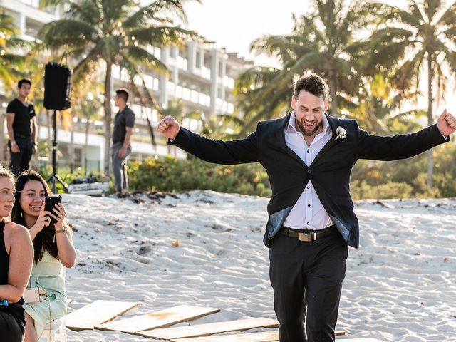 Jay and Mazal's Wedding in Cancun, Mexico 22