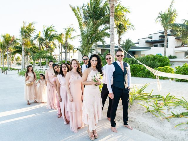 Jay and Mazal's Wedding in Cancun, Mexico 19