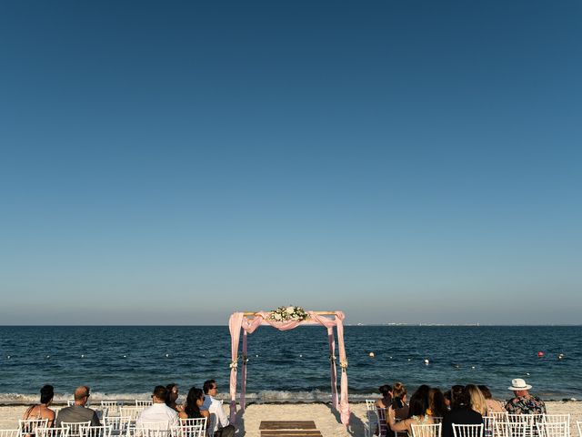 Jay and Mazal's Wedding in Cancun, Mexico 17