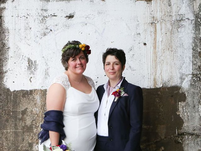 The wedding of Julie and Melissa