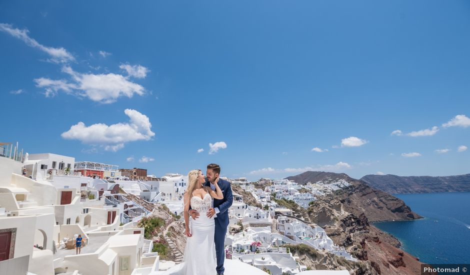 Argyro and Dimitris's Wedding in Santorini, Greece