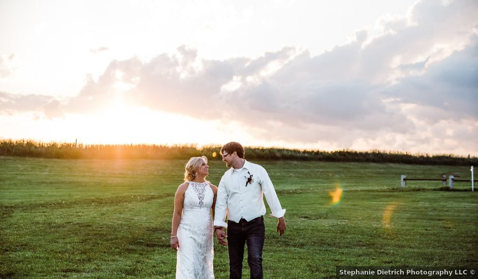 Stefanie and Marcus's Wedding in Tipton, Iowa