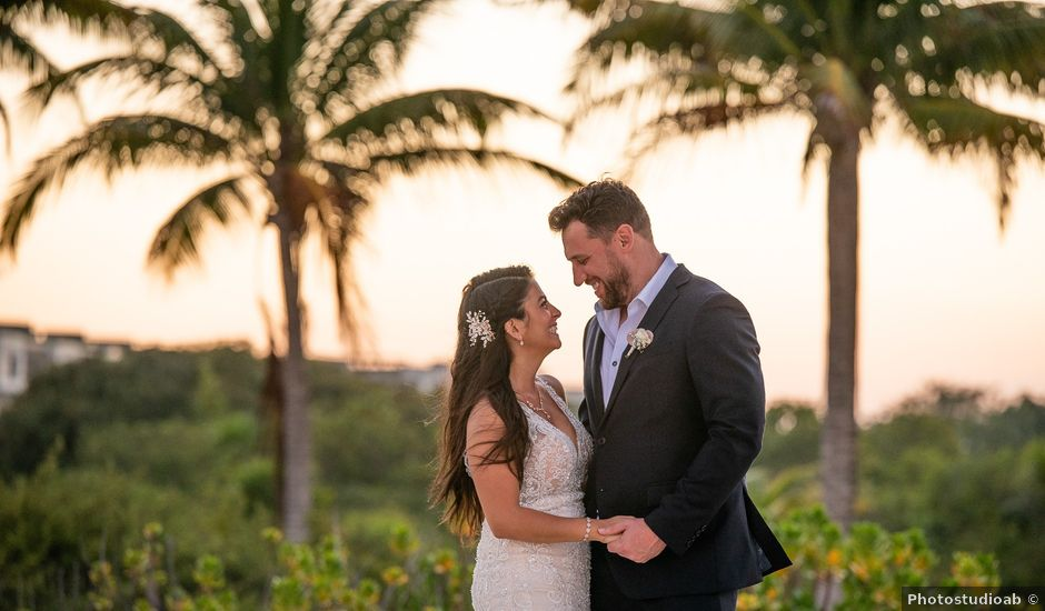 Jay and Mazal's Wedding in Cancun, Mexico