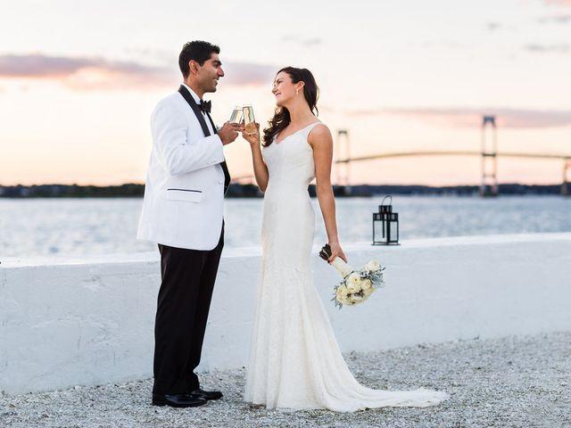 Mollie and Mayur's Wedding in Newport, Rhode Island 18