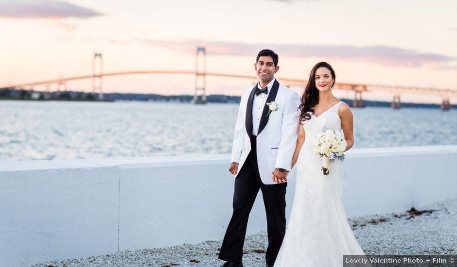 Mollie and Mayur's Wedding in Newport, Rhode Island