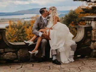 The wedding of Shayla and Nick