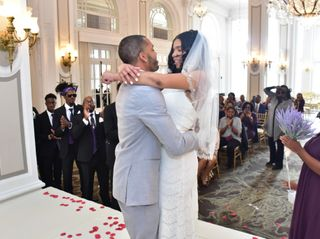 The wedding of Rae and Parris
